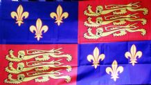 ROYAL BANNER 16TH CENTURY (TUDOR) - 5 X 3 FLAG